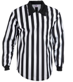 DISCONTINUED Adult Football Officials' Long Slv (no pocket)-Teamwork Athletic-1123