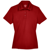 Womens 100% Polyester Polo