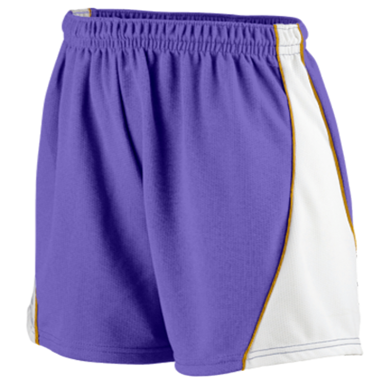 DISCONTINUED Augusta Ladies Wicking Mesh Basketball Varsity Shorts - 978