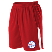 Philadelphia 76Ers Youth Basketball Shorts - A205LY-76ERS