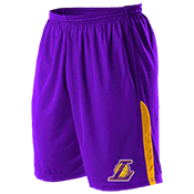 Los Angeles Lakers Youth Basketball Shorts - A205LY-LAKERS