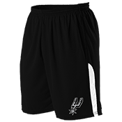 San Antonio Spurs Youth Basketball Shorts - A205LY-SPURS