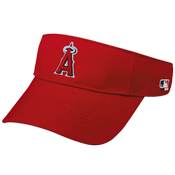 Anaheim Angels - Official MLB Visor for Little Kid's Softball Leagues.