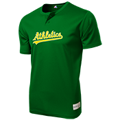 Athletics Youth 2-Button MLB Jersey - MLB181