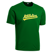 Athletics Youth Wicking MLB Replica Jersey - M1261