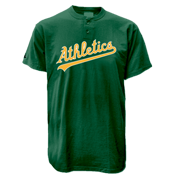 Athletics MLB 2 Button Jersey  - MA0180
