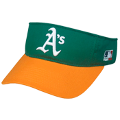Oakland A's- Official MLB Visor for Little Kids Softball League