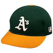 Oakland A's Official MLB Hat for Little Kids Leagues