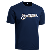 Brewers Youth Wicking MLB Replica Jersey - MAGY23