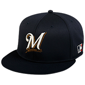 Brewers Flatbill Baseball Hat OCMLB400