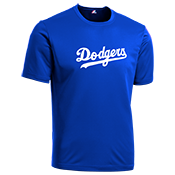 Dodgers Youth Wicking MLB Replica Jersey - MAGY23