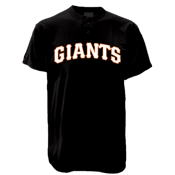 Giants MLB 2 Button Jersey  - MA0180