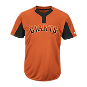 Youth Giants Two-Button Jersey - Giants-MAIY83