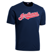 Indians Youth Wicking MLB Replica Jersey - MAGY23