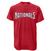 Washington Nationals 2 Button T-Shirt-Official MLB