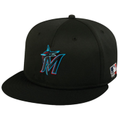 Marlins Flatbill Baseball Hat OCMLB400