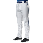 Open Bottom Baggy Cut Baseball Pants
