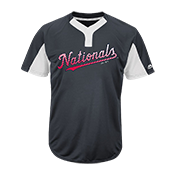 Custom Nationals Two-Button Jersey -  Nationals-MAI383
