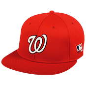 Nationals Flatbill Baseball Hat OCMLB400