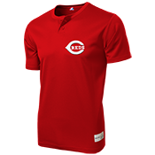 Reds MLB 2 button Youth Jersey - MLB181
