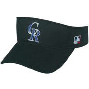 Colorado Rockies - Official MLB Visor for Little Kids Softball League