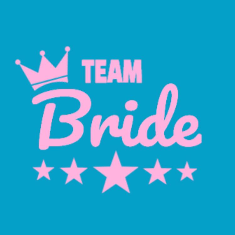 team bride t shirt   wedding t shirt design