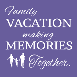 Family Vacation T-Shirt Design - 2265