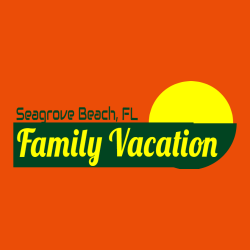 Family Vacation Seagrove Beach, FL T-Shirt Design - 2269