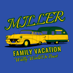 Family Vacation T-Shirt Design - 1032