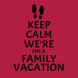 Family Vacation T-Shirt Design - 2260