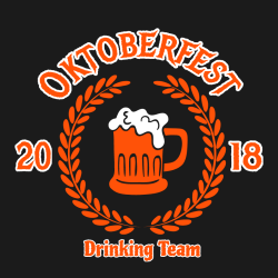 Oktoberfest Drinking Team T Shirts1