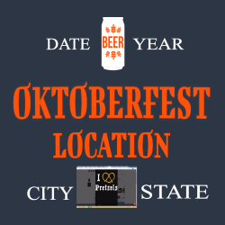 Oktoberfest Location 4 T Shirts