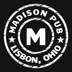 madison pub lisbon, ohio m   bar  restaurants t shirt design