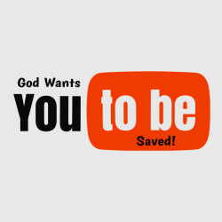 God wants you to be saved - Christian T-shirts