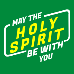 May the holy spirit be with you - Christian T-shirts