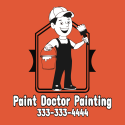 Paint Doctor Painting  - Painting T-shirt Design T-Shirt Design - 3336