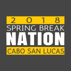 Spring Break Cabo T-Shirt Design - 3642