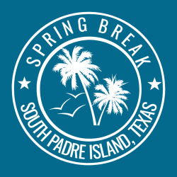 Spring Break Padre Island T-Shirt Design - 3627