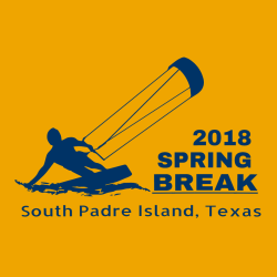Spring Break Padre Island T-Shirt Design - 3633