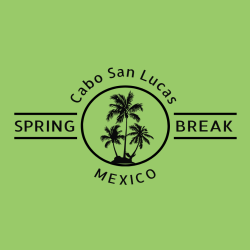 Spring Break Cabo T-Shirt Design - 3636
