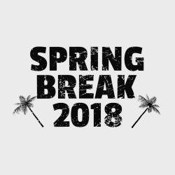 Spring Break T-Shirt Design - 3637