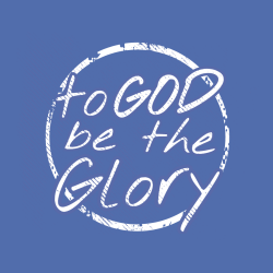 God To Be The Glory - Christian T-shirt Design T-Shirt Design - 3816