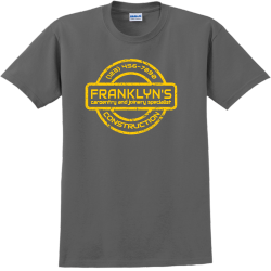 Construction Franklyn's Caroentry And Joinery Specialist - Construction T-shirt Design T-Shirt Desig