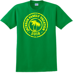 Family Vacation T-Shirt Design - 2261
