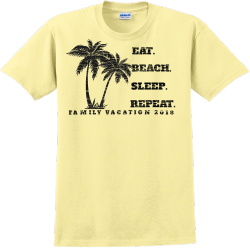 Family Vacation T-Shirt Design - 2263