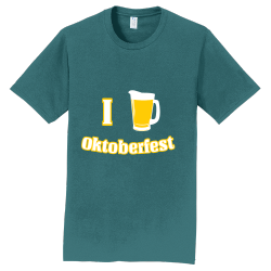 I Love Oktoberfest Beer T Shirts