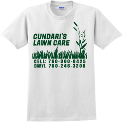 Daryl Lawn Care - Landscaping T-shirt Design T-Shirt Design - 4265