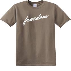 Freedom - Christian T-shirts