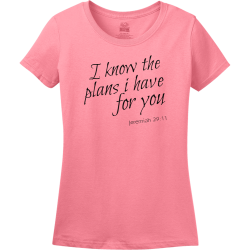 I know the plans i have for you - Christian T-shirts