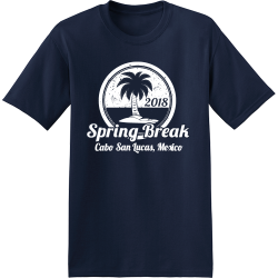 Spring Break Cabo T-Shirt Design - 3630